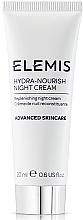 """Духи, Парфюмерия, косметика Ночной крем для лица """"Питание и увлажнение"""" - Elemis Hydra-Nourish Night Cream"""