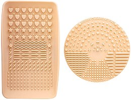 Духи, Парфюмерия, косметика Очиститель для кистей - Nanshy Makeup Brush Cleaning Pad & Palette