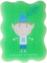 Духи, Парфюмерия, косметика Мочалка банная детская, Ben Elf - Suavipiel Ben & Holly's Bath Sponge