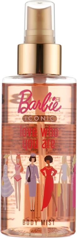 "Спрей для тела детский ""Love Who You Are"" - Bi-Es Barbie Iconic Body Mist"