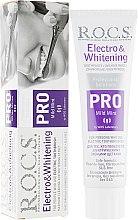 Духи, Парфюмерия, косметика Зубная паста отбеливающая к электрическим щеткам - R.O.C.S. Pro Electro & Whitening Mild Mint