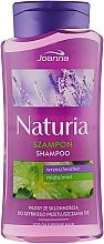 Шампунь для волосся з м'ятою і вересом - Joanna Naturia Shampoo With Mint And Heather — фото N3