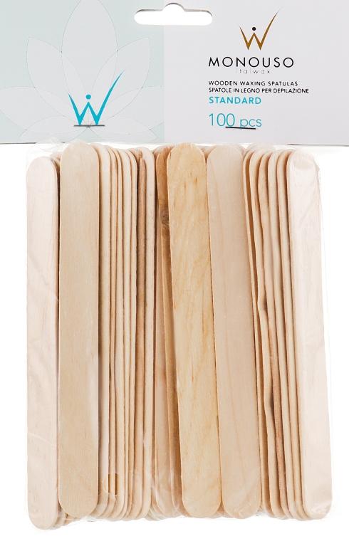 Шпатель для депиляции - ItalWax Wooden Waxing Spatulas Standard