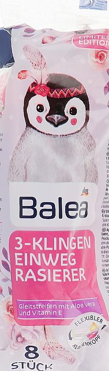 Одноразовые женские станки для бритья с тремя лезвиями - Balea 3-KlingenEinweg Rasierer