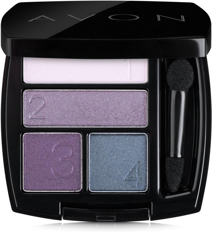 Четырехцветные тени для век - Avon True Color Eyeshadow Quad