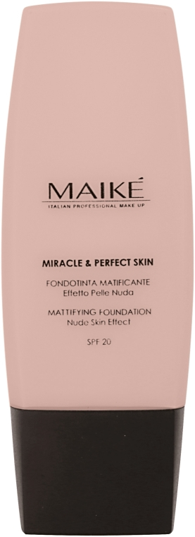 Матирующая тональная основа SPF20 - Maike' Miracle & Perfect Skin Mattifying Foundation