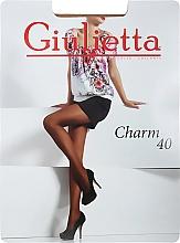 "Духи, Парфюмерия, косметика Колготки для женщин ""Charm"" 40 Den, visone - Giulietta"
