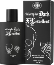 Духи, Парфюмерия, косметика Christopher Dark Xl Excellent Pour Homme - Туалетная вода