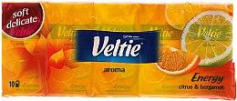 """Духи, Парфюмерия, косметика Бумажные носовые платки """"Лимон и бергамот"""" - Veltie Veltie Energy Tissues"""