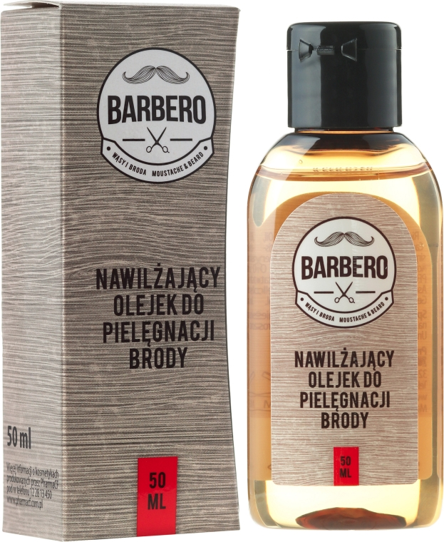 Увлажняющее масло для бороды - Barbero Beard Care Moisturizing Oil