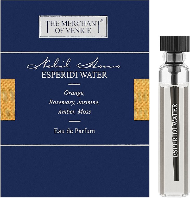 The Merchant Of Venice Esperidi Water - Парфюмированная вода (пробник)