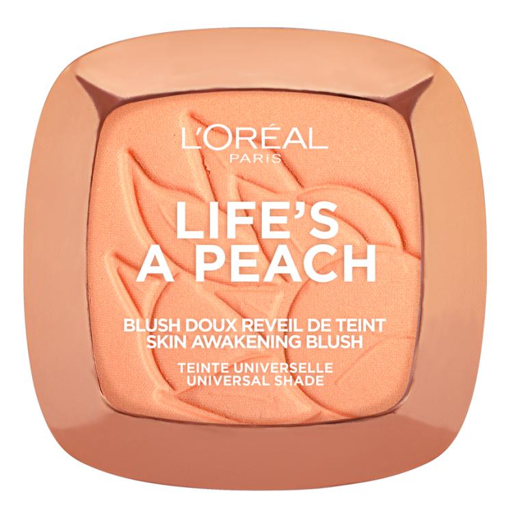 Румяна для лица - L'Oreal Paris Life's a Peach Blush Powder