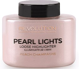 Духи, Парфюмерия, косметика Хайлайтер для лица рассыпчатый - Makeup Revolution Pearl Lights Loose Highlighter Libre