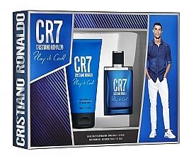 Духи, Парфюмерия, косметика Cristiano Ronaldo CR7 Play It Cool - Набор (edt/30ml + sh/gel/150ml)