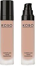 Духи, Парфюмерия, косметика Тональный крем для лица - Kobo Professional Camouflage Liquid Foundation