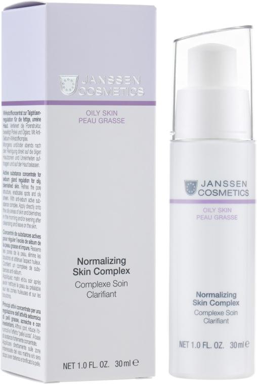 Нормализующий концентрат для жирной кожи - Janssen Cosmetics Normalizing Skin Complex