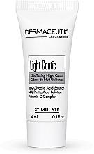Духи, Парфюмерия, косметика Осветляющий ночной крем, туба - Dermaceutic Laboratoire Light Ceutic Skin Toning Night Cream (пробник)