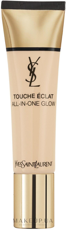 Тональная основа - Yves Saint Laurent Touche Eclat All-in-One Glow — фото B10 - Porcelain