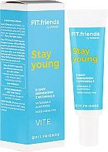 Дермо крем для лица с витамином Е - AA Fit.Friends Stay Young E-Shot Dermocream — фото N1