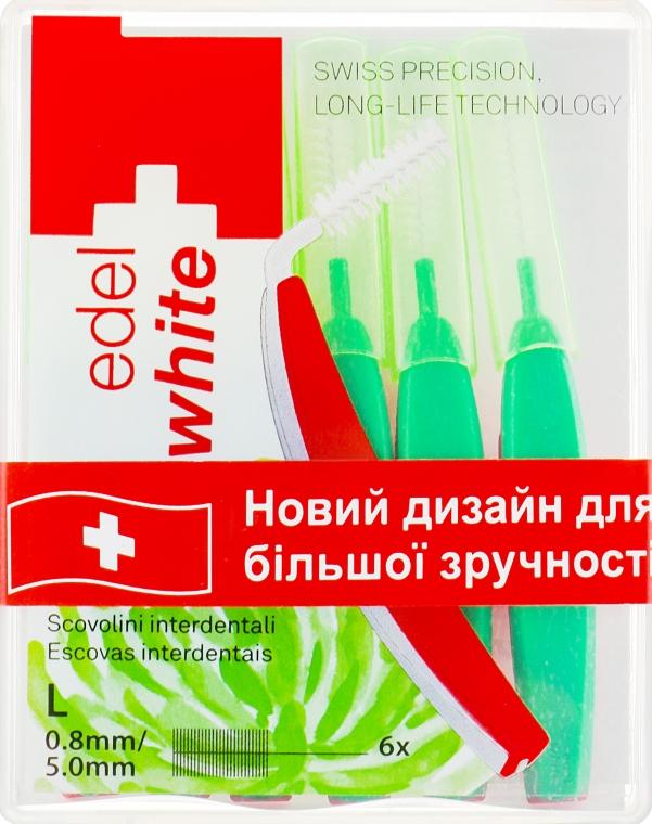 """Щётки """"Profi-Line"""" для межзубных промежутков L - Edel+White Dental Space Brushes L"""