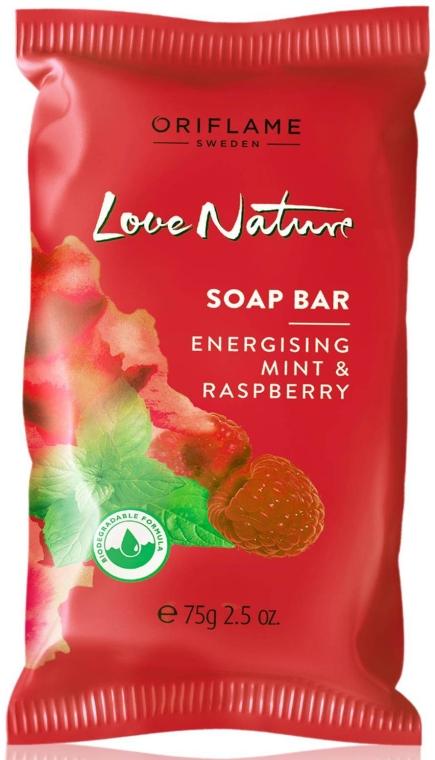 "Мыло ""Малина и мята"" - Oriflame Love Nature Soap"