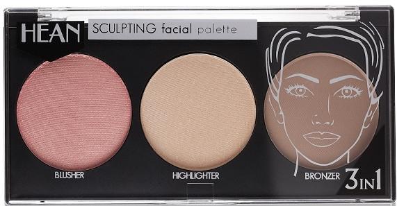 Палетка для скульптурирования лица - Hean Sculpting Facial Palette