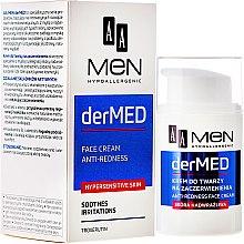Духи, Парфюмерия, косметика Успокаивающий крем для лица - AA Cosmetics Men derMed Anti-Redness Face Cream