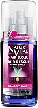 Духи, Парфюмерия, косметика Спрей против выпадения и ломкости волос - Natur Vital Hair Rescue Repair Spray