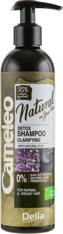 Шампунь для волос - Delia Cameleo Natural On Your Hair Detox Shampoo