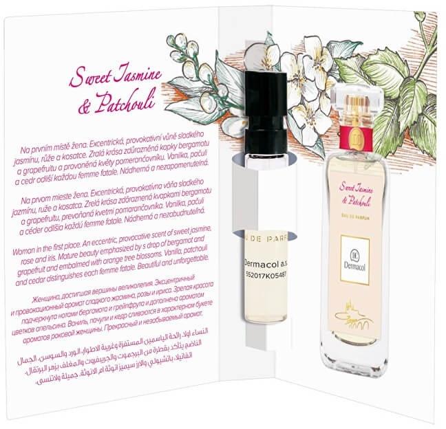 Dermacol Sweet Jasmine And Patchouli - Парфюмированная вода (пробник)
