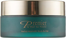 "Духи, Парфюмерия, косметика Ароматическое масло для тела ""Луговые травы"" (стекло) - Premier Dead Sea Herbal Aromatic Body Butter"