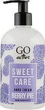 Духи, Парфюмерия, косметика Крем для рук - GO Active Sweet Care Berry Pie Hand Cream