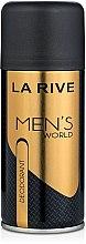 Духи, Парфюмерия, косметика La Rive Men's World - Дезодорант