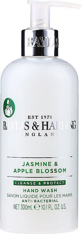 Жидкое мыло для рук - Baylis & Harding Jasmine and Apple Blossom Anti-Bacterial Hand Wash