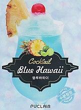 Духи, Парфюмерия, косметика Успокаивающая маска аква-коктейль - Puclair Blue Hawaii Cocktail Cooling & Soothing Face Mask