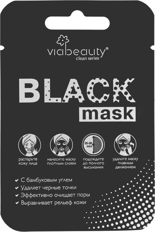 Очищающая маска-пленка - VIA Beauty Black Mask