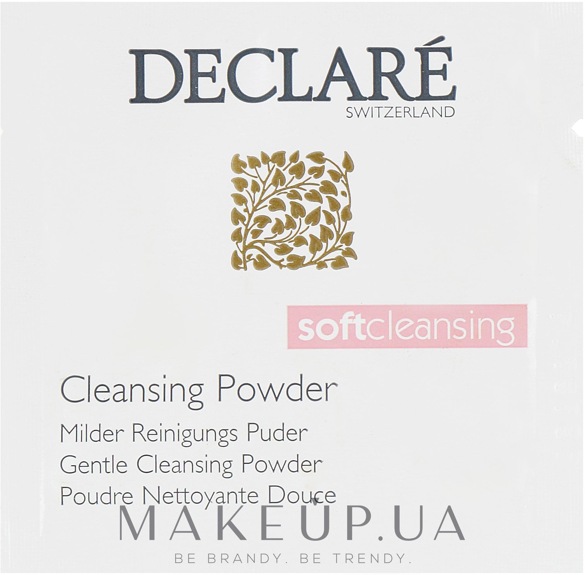 Мягкая очищающая пудра - Declare Gentle Cleansing Powder (пробник) — фото 1g