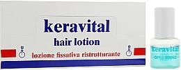 Духи, Парфюмерия, косметика Реструктурирующий лосьон для всех типов волос с растительными протеинами - Vitalfarco Keravital
