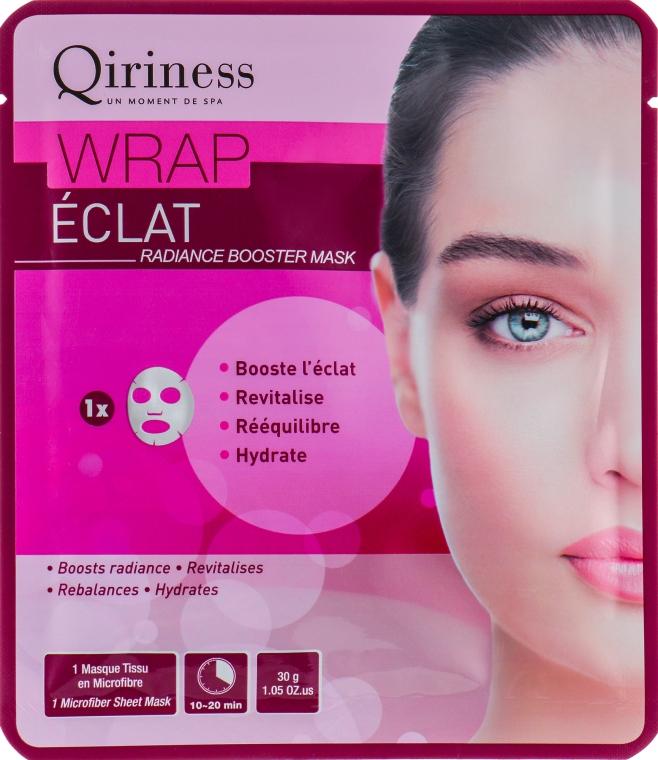 Интенсивно регенерирующая и оживляющая тканевая маска - Qiriness Wrap Coup D'eclat Radiance Booster Mask