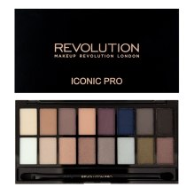 Духи, Парфюмерия, косметика Палетка теней для век, 16 оттенков - Makeup Revolution Salvation Palette Iconic Pro 2