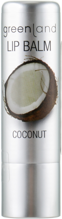 """Бальзам для губ """"Кокос"""" - Greenland Lip Balm Coconut"""