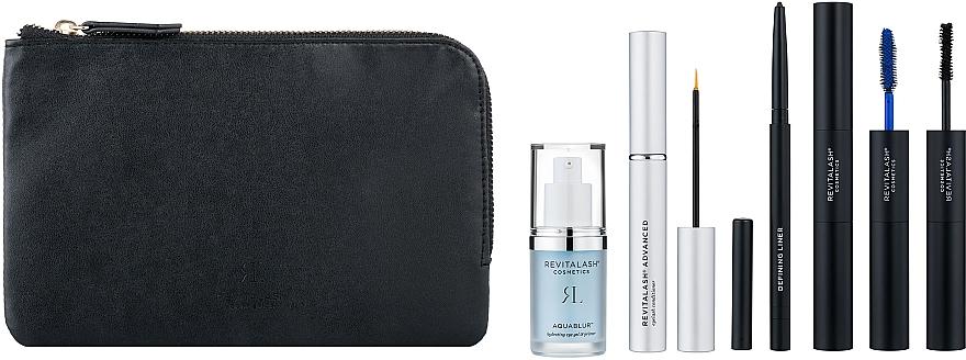 Набор - Revitalash Spring Beauty Lash Kit (eye/primer/15ml+mascara/11ml+5.5ml+cond/3.5ml+eye/liner/0.3g+bag)
