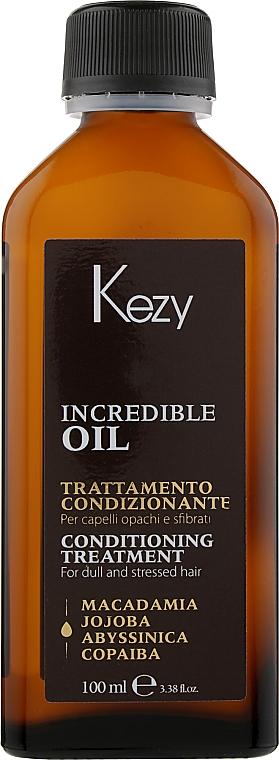 Масло-эликсир для волос - Kezy Incredible Oil