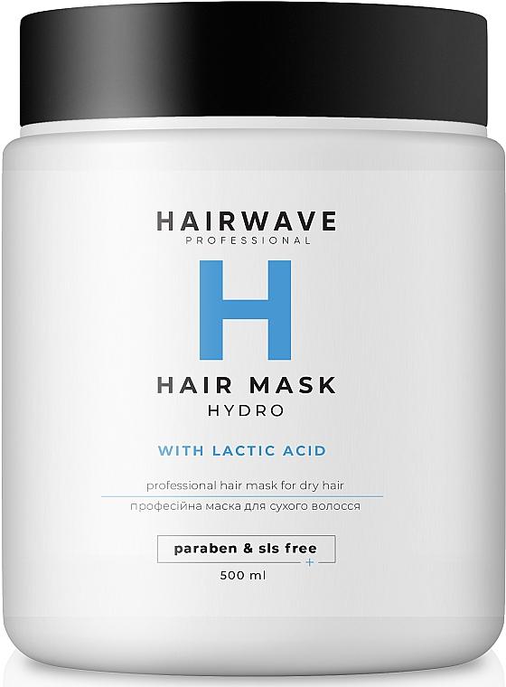 """Маска увлажняющая для сухих волос """"Hydro"""" - HAIRWAVE Mask For Hair For Dry Hair"""