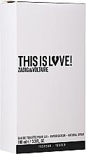Духи, Парфюмерия, косметика Zadig & Voltaire This is Love! for Him - Туалетная вода (тестер с крышечкой)