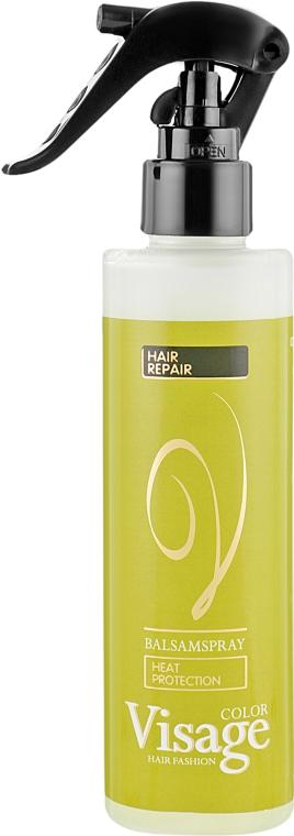 Термозащитный двухфазный бальзам-спрей для волос - Visage Heat Protection Balsam Spray