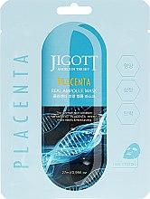 Парфумерія, косметика Ампульна маска з фітоплацентою - Jigott Placenta Real Ampoule Mask