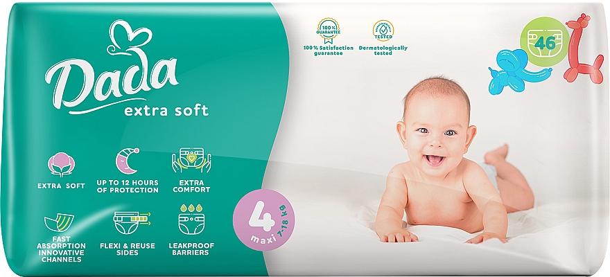 """Подгузники """"Extra Soft"""" 4 Maxi (7-18 кг, 46 шт) - Dada"""