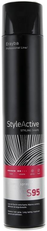 Лак для волос сильной фиксации - Erayba S95 Extreme Spray