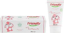 Духи, Парфюмерия, косметика Детская зубная паста - Friendly Organic Baby Toothpaste